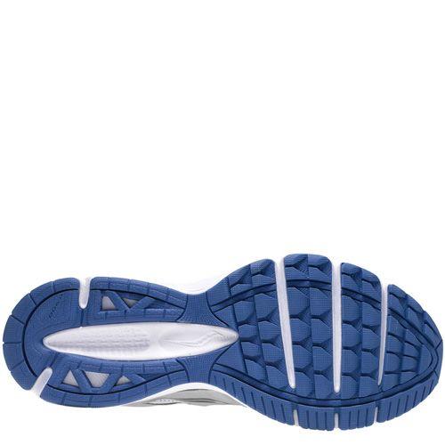 Мужские беговые кроссовки Saucony Grid Lexicon светло-серые с белым и синим, фото