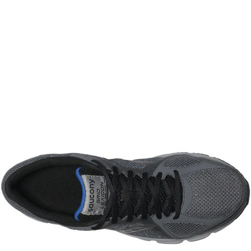 Мужские беговые кроссовки Saucony Grid Lexicon серые, фото