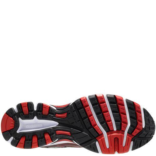 Мужские беговые кроссовки Saucony Cohesion 7 черно-серебристые с красным , фото