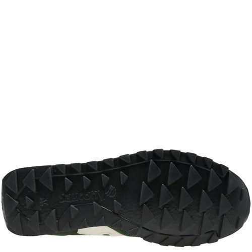 Мужские кроссовки Saucony Jazz Low Pro темно-зеленые с белым, фото