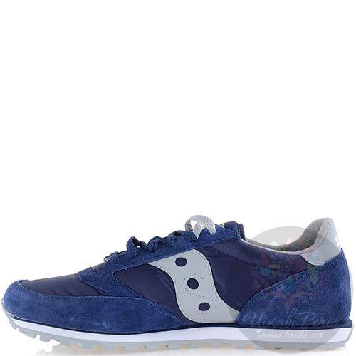 Мужские кроссовки Saucony Jazz Low Pro темно-синие с серым, фото