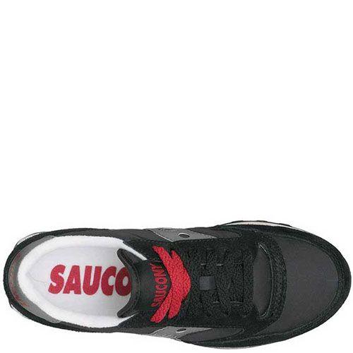 Кроссовки Saucony Jazz Low Pro черные с серым, фото