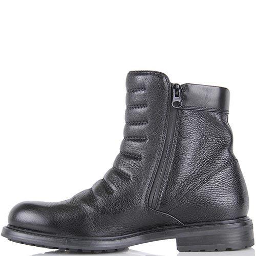 Высокие ботинки Pakerson из натуральной кожи с термоутеплителем, фото