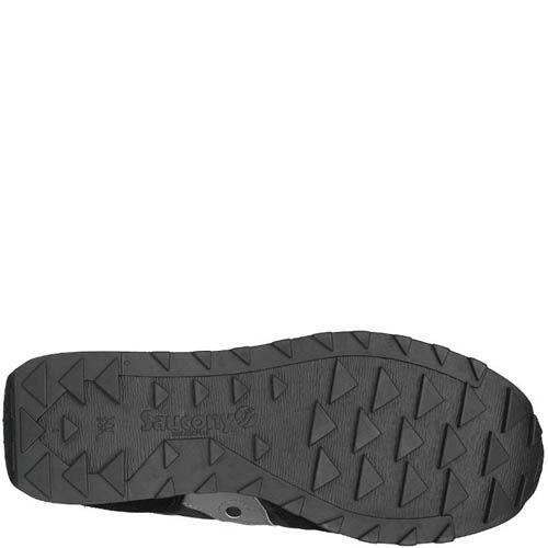 Мужские кроссовки Saucony Jazz Low Pro черные с красным и серым, фото