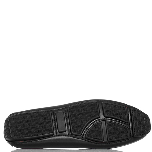Черные лоферы Gianni Famoso из гладкой кожи, фото
