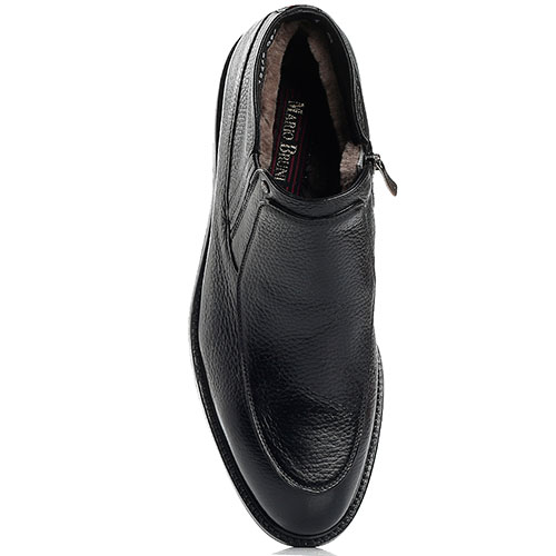Черные ботинки Mario Bruni на меху, фото