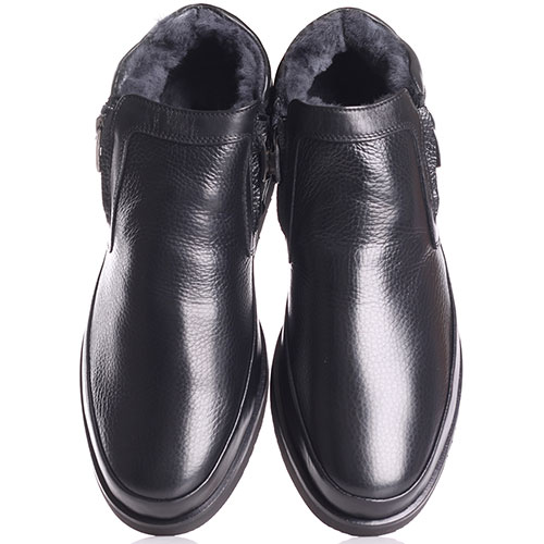 Зимние ботинки Giampiero Nicola на толстой подошве, фото