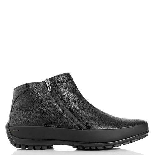 Черные ботинки Pakerson из мягкой кожи, фото