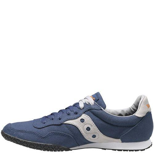 Мужские кроссовки Saucony Bullet Vegan серо-синие, фото