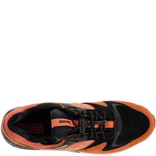 Кроссовки Saucony Grid 9000 Limited Coral Black мужские, фото