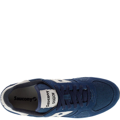 Кроссовки Saucony Shadow Original Vegan Navy синего цвета, фото