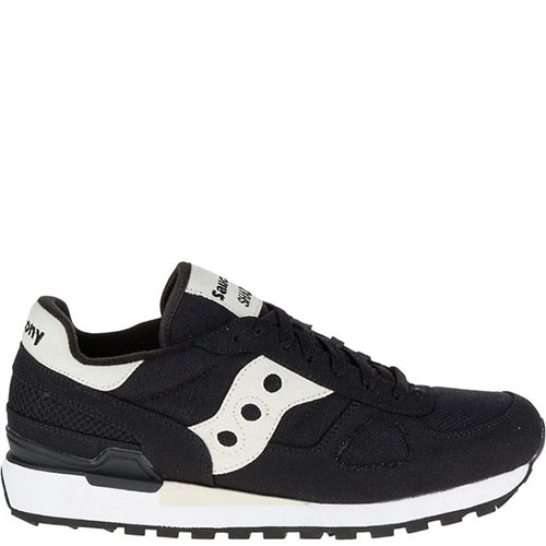 Кроссовки Saucony Shadow Original Vegan Black из хлопка, фото