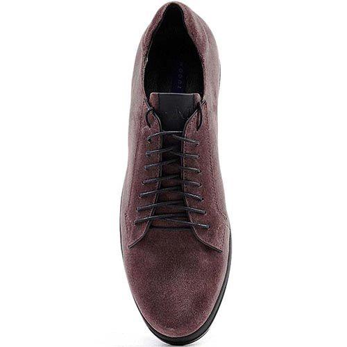 Туфли Modus Vivendi спортивного стиля из замши коричневого цвета, фото