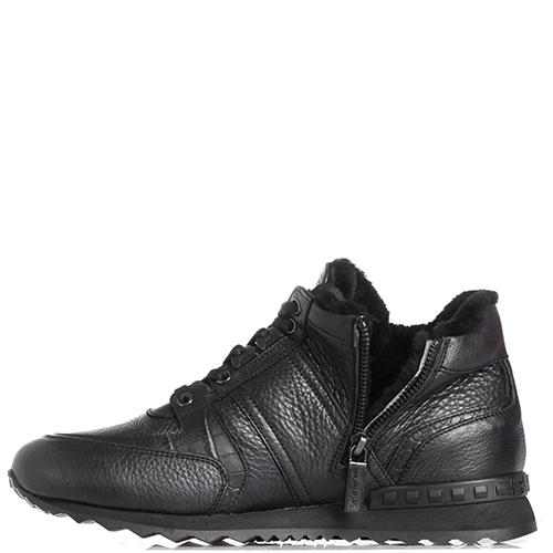 Зимние кроссовки Baldinini черного цвета, фото
