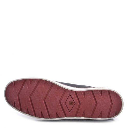 Кеды Prego мужские кожаные черного цвета с белой подошвой, фото