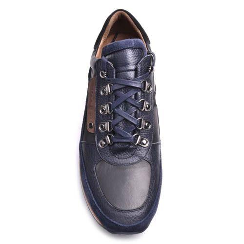 Кроссовки Prego мужские из кожи и замши, фото