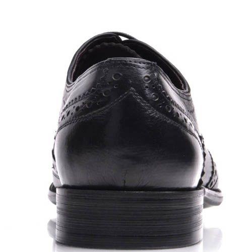 Броги Prego мужские классические черного цвета, фото