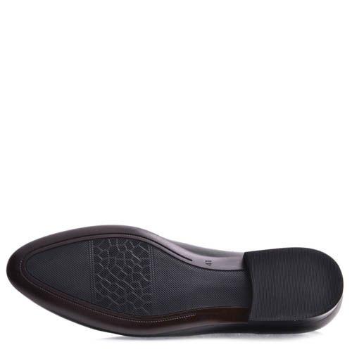 Туфли Prego классические мужские черного цвета, фото