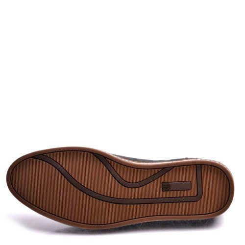 Туфли Prego мужские спортивные  с полосатой подошвой, фото