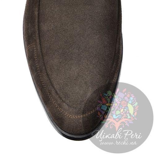 Ботинки GF Ferre осенние замшевые коричневые, фото