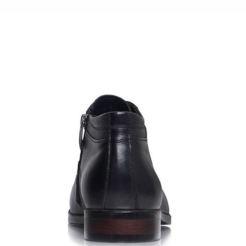 Высокие туфли-оксфорды Prego черного цвета, фото