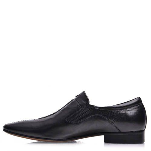 Туфли-лоферы Prego мужские со строчкой, фото