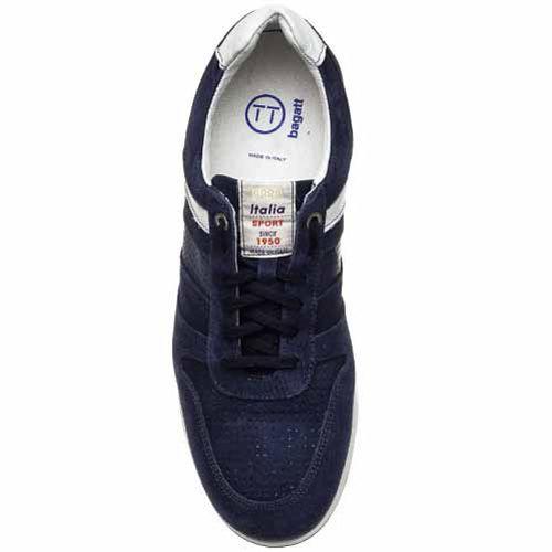 Кроссовки Bagatt замшевые темно-синие, фото