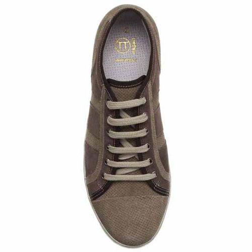Кеды Bagatt замшевые светло-коричневые с перфорацией, фото
