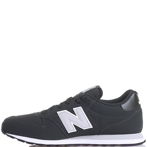 Кроссовки мужские New Balance 500 черного цвета, фото