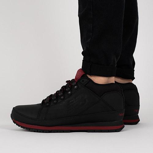 Утепленные кроссовки New Balance 754 из черной кожи, фото