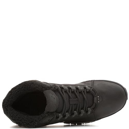 ☆ Зимние ботинки New Balance 754 из черной кожи hl754bn-o купить в ... 76222f519e632