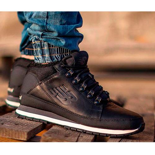 ☆ Зимние спортивные ботинки New Balance 754 из черной кожи HL754BN ... 6d5386d6a66ef