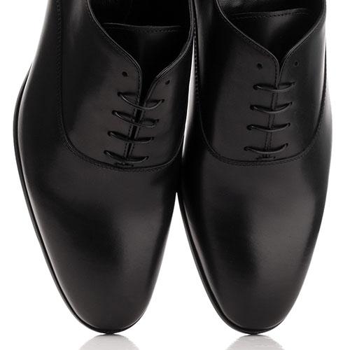 Туфли John Richmond из кожи черного цвета, фото