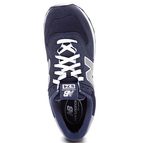 Кроссовки New Balance M574 мужские темно-синие, фото