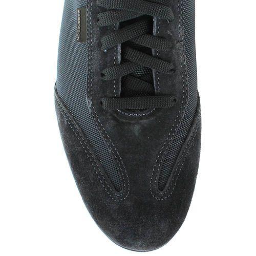 Кроссовки Momodesign из натуральной замши и текстиля черного цвета, фото