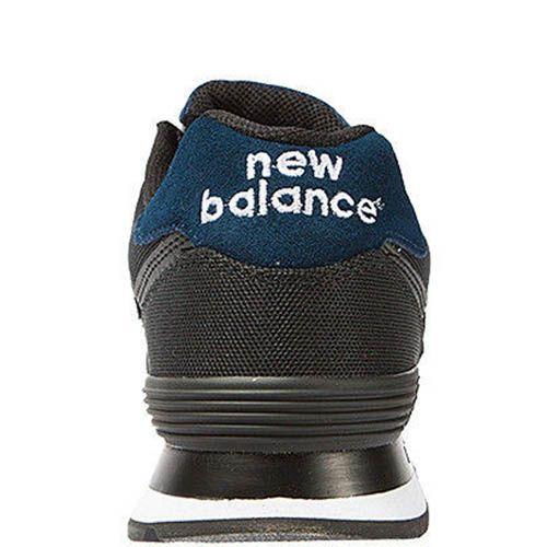 Кроссовки New Balance мужские модель 574 POLO Pack в черном цвете, фото