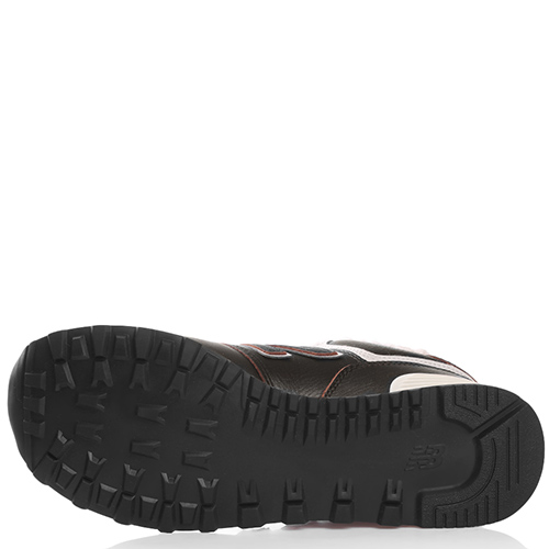 Утепленные кроссовки New Balance 574 темно-коричневого цвета, фото