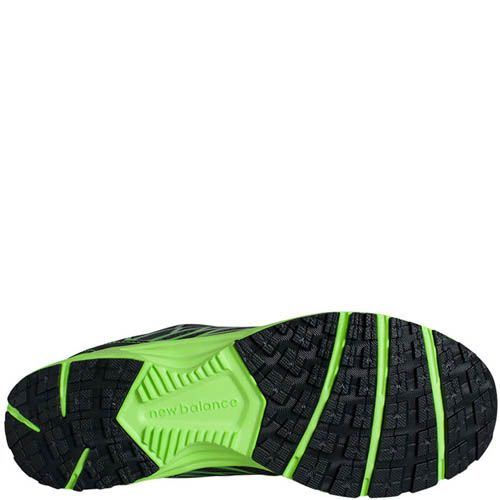 Кроссовки New Balance мужские для бега модель 330 в черном цвете с зеленым, фото