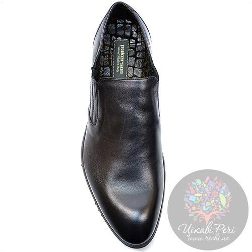 Туфли Pakerson кожаные черные утепленные, фото