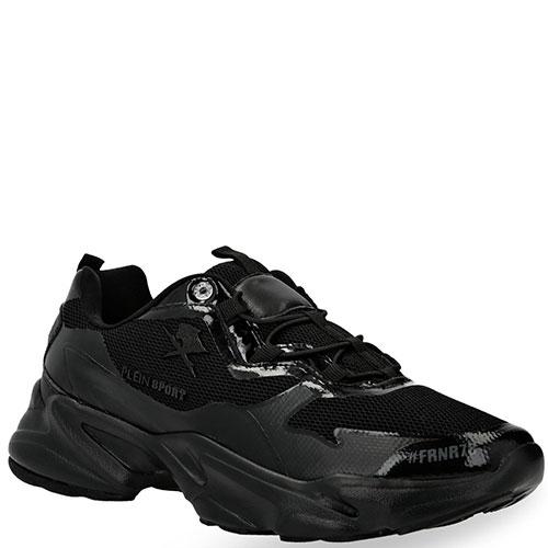 Спортивные кроссовки Philipp Plein Logos на толстой подошве, фото