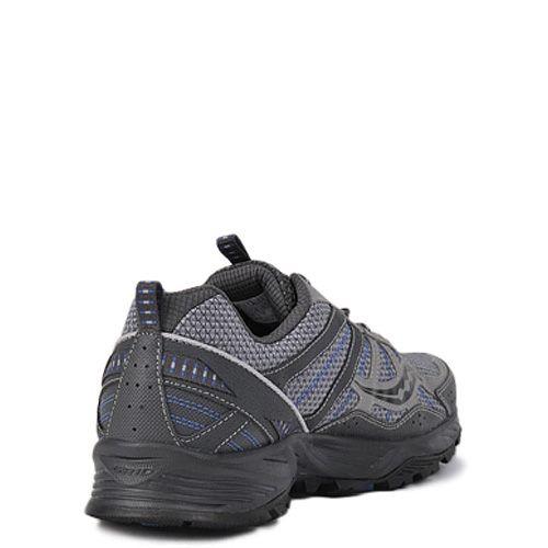 Мужские кроссовки Saucony Excursion TR8 темно-серые с синим, фото