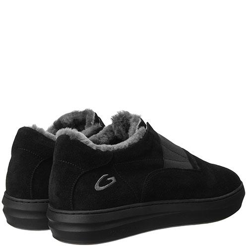 Черные ботинки Alberto Guardiani на резинке, фото