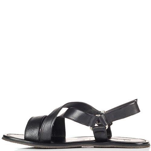 Кожаные сандалии Moreschi на липучках, фото