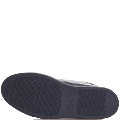 Ботинки John Galliano с черно-белыми шнурками, фото