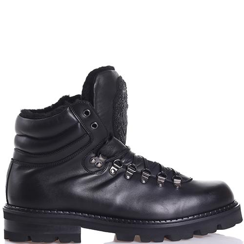 Зимние ботинки Roberto Cavalli из гладкой кожи, фото