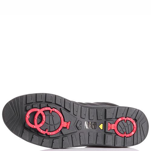 Ботинки на шнуровке Bogner черного цвета, фото