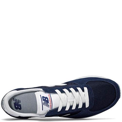 Замшевые кроссовки New Balance 220 синего цвета, фото