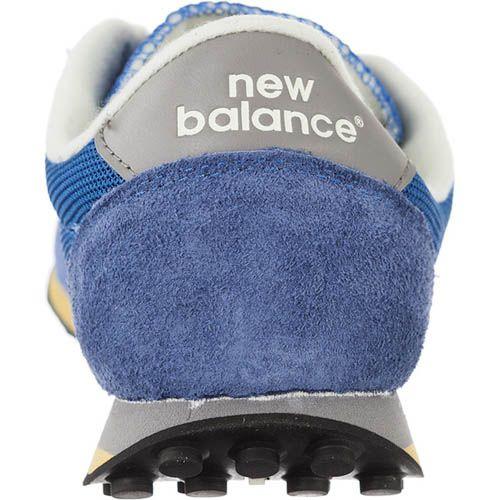 Кроссовки New Balance U410HB голубые с замшевыми вставками, фото
