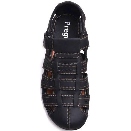Сандалии Prego спортивные закрытого типа черные, фото
