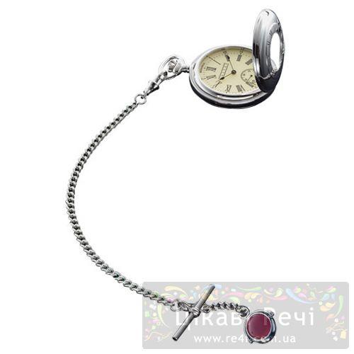 Часы карманные Dalvey «Half Hunter» на цепочке, фото
